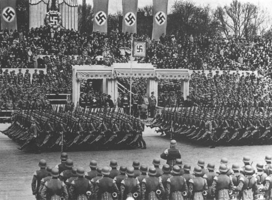 adolf hitler sought through the terms if the treaty of versailles Appeasement in an international context is a diplomatic policy of making political  or material concessions to an aggressive power in order to avoid conflict the  term is most often applied to the foreign policy of the british prime  however,  the victors' agreements of world war i (treaty of versailles and the treaty of.